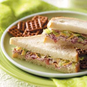 Creamy Beef Sandwiches Recipe