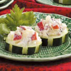 Crunchy Cucumber Rounds Recipe