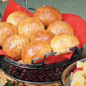Aniseed Yeast Rolls Recipe