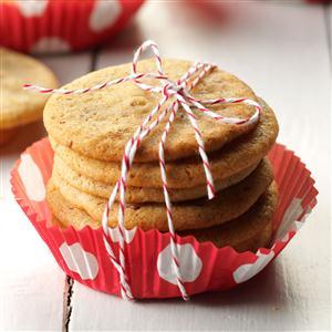 Anise Icebox Cookies