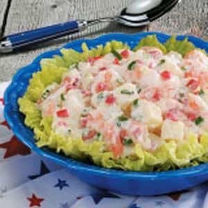 Cajun Shrimp Potato Salad Recipe