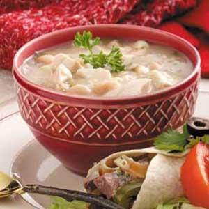White Bean Chicken Stew Recipe