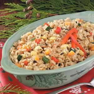 Confetti Long Grain and Wild Rice Recipe