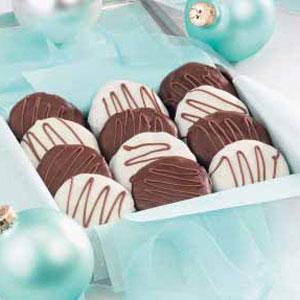 Chocolate-Dipped Cookies Recipe