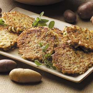 German Potato Patties Recipe