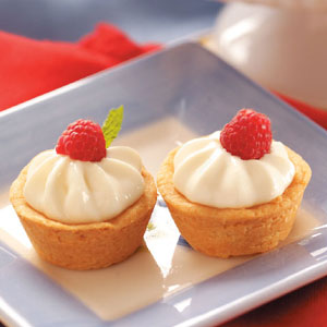 Cheese-Filled Shortbread Tartlets Recipe
