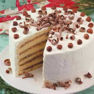 Ricotta Nut Torte Recipe