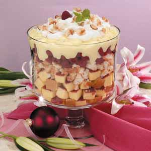 Raspberry Vanilla Trifle Recipe