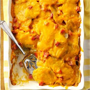 Scalloped Potatoes 'n' Ham Casserole Recipe