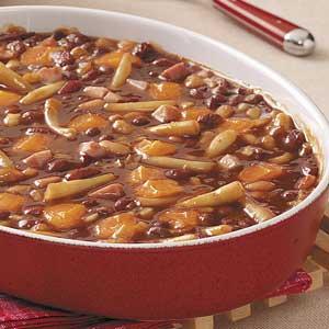 Hearty Calico Bean Bake Recipe