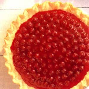 """Red, White and Blue Berry Cream Pie"" Recipe"