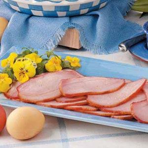Baked Canadian-Style Bacon Recipe