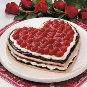 Chocolate Cherry Heart Recipe