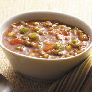Hearty Veggie Lentil Soup Recipe
