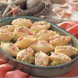 Crab-Salad Jumbo Shells Recipe