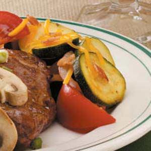 Zucchini Tomato Side Dish Recipe