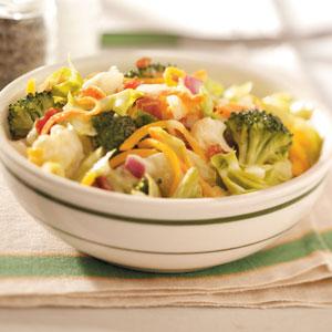 Crisp Tossed Salad Recipe