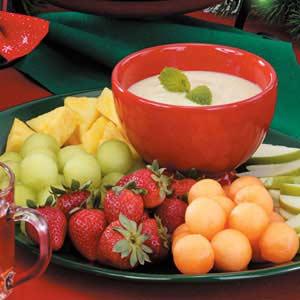 Honey-Lime Fruit Dip Recipe