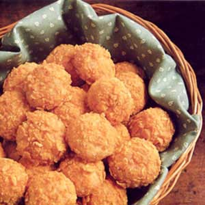 Crunch Swiss and Ham Appetizers Recipe