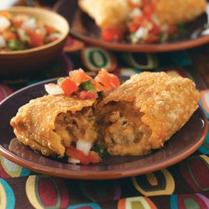 how to make fried chimichangas
