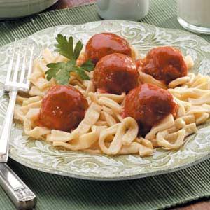 Applesauce Meatballs Recipe