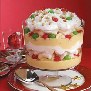 Christmas trifle recipe taste of home christmas trifle recipe forumfinder Image collections
