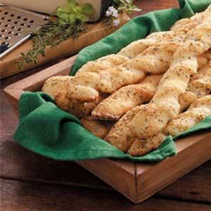 Italian Garlic Breadsticks Recipe