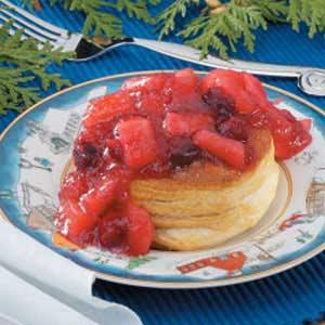 Cranberry-Apple Biscuits Recipe