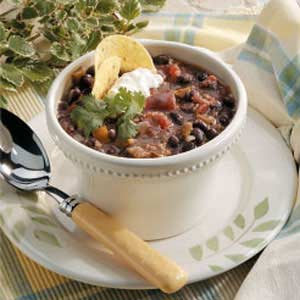 Home-Style Black Bean Soup Recipe