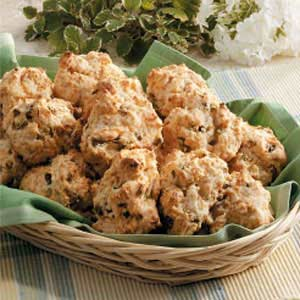 Savory Drop Biscuits Recipe