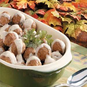 Creamy Swedish Meatballs Recipe