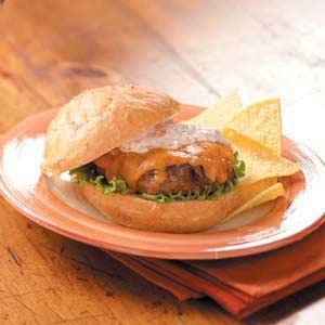 Tex-Mex Turkey Burgers Recipe