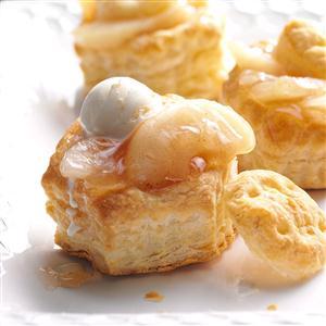 Puffed Apple Pastries Recipe