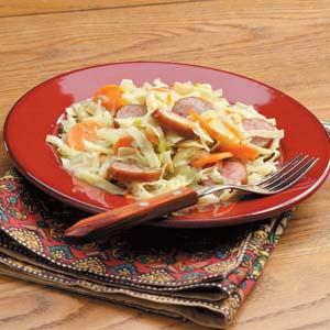 Sausage Noodle Supper Recipe