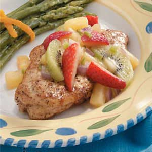 Chicken Breasts with Fruit Salsa Recipe