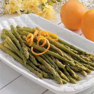 Asparagus with Orange Butter Recipe