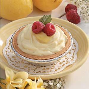 Raspberry-Lemon Cheese Tarts