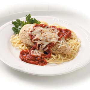 Baked Chicken with Pasta Sauce Recipe