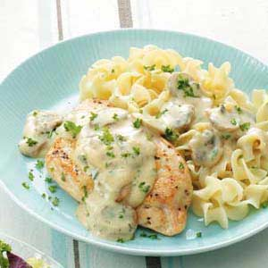 Creamy Chicken with Noodles Recipe