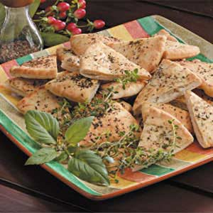 Herbed Pita Chips Recipe