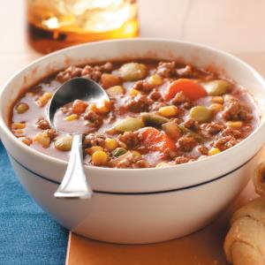Quick Beef Vegetable Soup Recipe