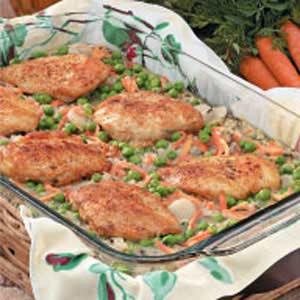 Chicken Wild Rice Bake Recipe