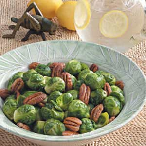 Pecan Brussels Sprouts Recipe