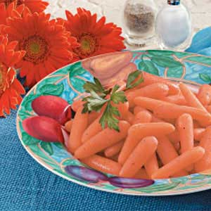 Gingered Baby Carrots Recipe