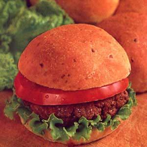Cheesy Onion Burger Buns Recipe