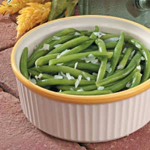 Herbed Green Beans with Onion Recipe