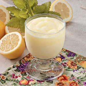 Frosty Lemon Drink Recipe