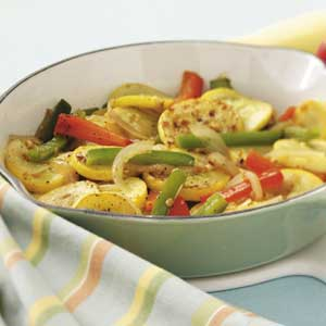Yellow Squash and Peppers Recipe