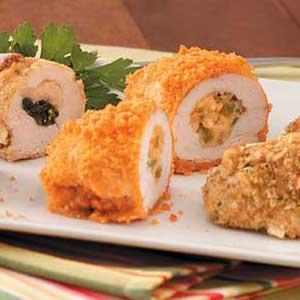 Southwest Chicken Kiev Recipe