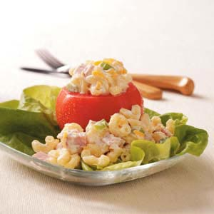 Macaroni Salad Tomato Cups Recipe